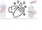 X DEZINFEKCE tekutá dezinfekce, virocid, 1 l ( na bázi ethylalkoholu s virucidním účinkem) ACI