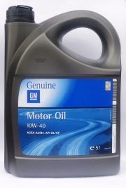 956028 GM MOTOROVÝ OLEJ 10W-40 5L GM